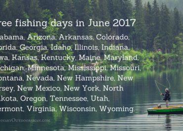 Free fishing days in June 2017
